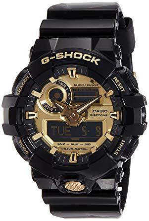 Analog-Digital Casio G-Shock GA710GB-1A mens