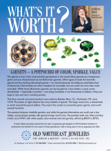 What's It Worth? Garnets — A Potpourri Of Color, Sparkle, Value