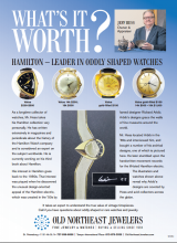 What's It Worth? Hamilton — Leader In Oddly Shaped Watches