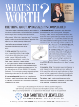 What's It Worth? The Thing About Appraisals: It's Complicated