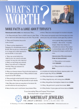 What's It Worth? More Facts And Lore About Tiffany's