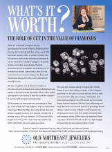 What's It Worth? The Role Of Cut In The Value Of Diamonds