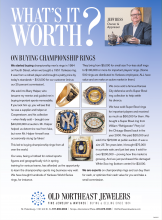 What's It Worth? On Buying Championship Rings