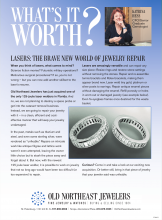 What's It Worth? Lasers: The Brave New World Of Jewelry Repair