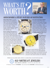 What's It Worth? Abercrombie & Fitch's Watches Of Distinction