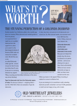 What's It Worth? The Stunning Perfection Of A Golconda Diamond