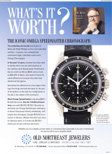 What's It Worth? The Iconic Omega Speedmaster Chronograph