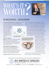What's It Worth - On Millennials And Diamonds