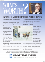 What's It Worth - Experience A Glimpse Into Our World's History