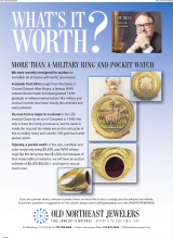 What's It Worth? More Than A Military Ring And Pocket Watch