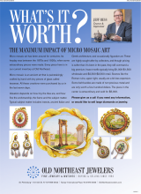 Whats It Worth? The Maximum Impact Of Micro Mosaic Art