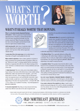 What's It Worth? What's It Really Worth? That Depends