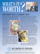 What's It Worth? Fair Market Value vs Celebrity Value