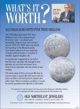 What's It Worth? 1652 Massachusetts Pine Tree Shilling