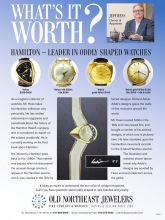 What's It Worth? Hamilton - Leader In Oddly Shaped Watches