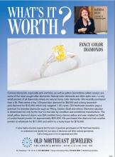 What's It Worth? Fancy Color Diamonds