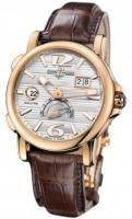 18kt Rose Gold Maxi GMT Dual Time Ulysse Nardin 246-55/60 mens