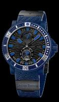 "Limited Edition Maxi Diver ""Blue Sea"" Ulysse Nardin 263-97LE-3C mens"