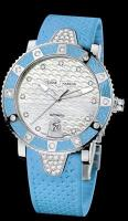 Lady Diver Stainless Steel with Diamonds Ulysse Nardin 8103-101E-3C/13 ladies