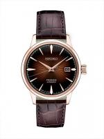 Presage Rose Gold Automatic Seiko SRPB46 mens
